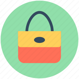 bag, hand bag, purse, shoulder bag, woman bag icon