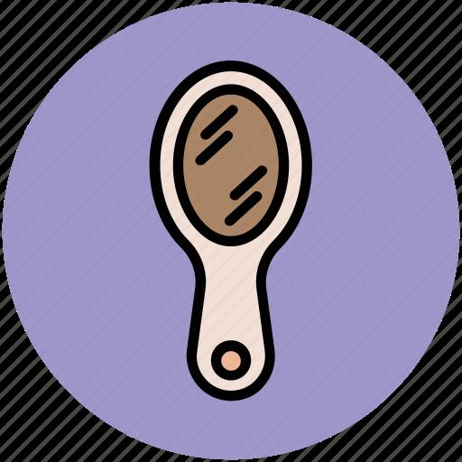 brush, hair brush, hair salon, hair styling, hairdressing, paddle brush icon