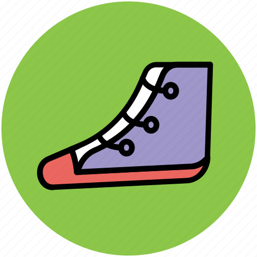 footwear, sneakers, sports shoes, sports wear, trainers shoes icon