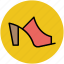 footwear, heel sandal, heel shoes, high heel sandal, woman heels, woman shoes icon