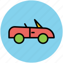 automobile, car, sports car, transport, vehicle icon