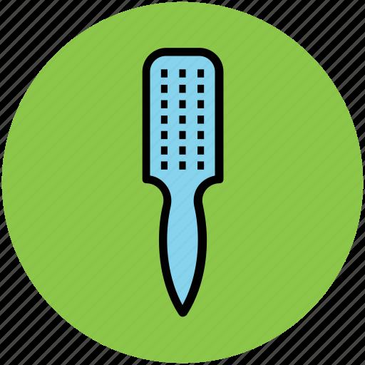 brush, hair brush, hair dressing, hair style, paddle brush icon