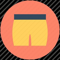 briefs, shorts, swim shorts, swimwear, underpants icon