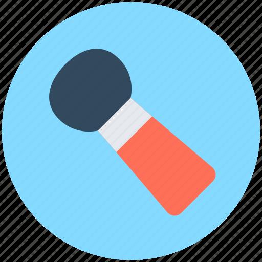 blush brush, cosmetic brush, makeup accessories, makeup applicator, makeup brush icon