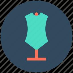 dress designing, dummy, lay figure, mannequin, tailor's mannequin icon