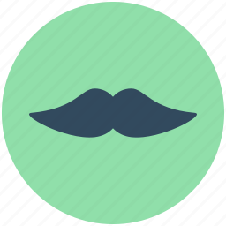 barber shop, hipster, moustache, mustachio, thick moustache icon
