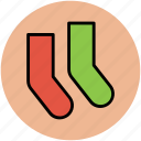 clothing, clothing accessories, fashion, socks, stocking icon
