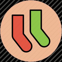 clothing, clothing accessories, fashion, socks, stocking icon