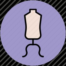 dress display, dress dummy, dummy, lay figure, manikin, mannequin icon