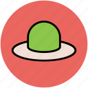 beach hat, cowboy hat, floppy hat, hat, head gear, summer hat icon