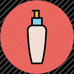 beauty product, conditioner, cosmetics, foam dispenser, lotion, soap dispenser icon