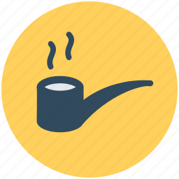 barware, cigar, smoking, smoking pipe, tobacco pipe icon