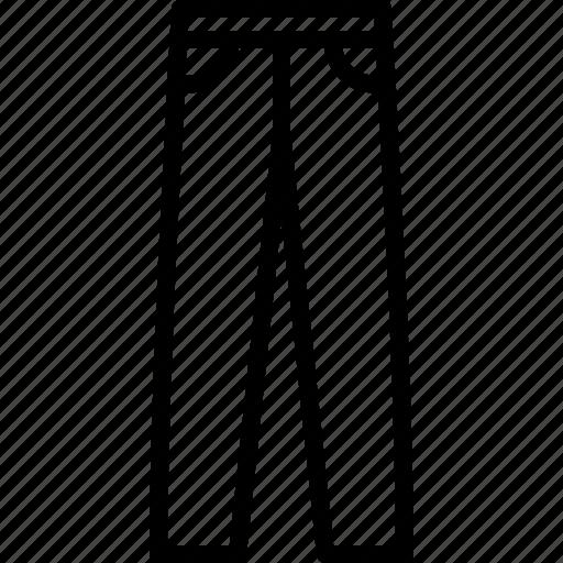 denim, dungaree, jeans, male, men, pants, trousers icon