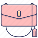 bag, evening, handbag, purse icon