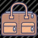 bag, dufflel, fashion, trave icon