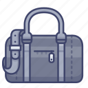 bag, duffle, fashion, travel icon