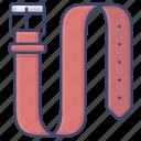 accessory, belt, fashion, waistband icon