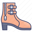 boots, heels, high, shoes icon