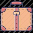 bag, briefcase, luggage, suitcase icon