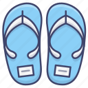 flip, flops, sandals, shoes, slippers icon