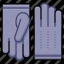 clothing, fashion, gloves, leather icon