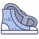 converse, footwear, shoes, sneakers icon