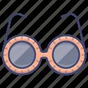 fashion, glasses, style, sunglasses icon