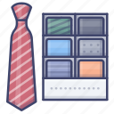 business, formal, necktie, tie icon