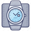 time, watch, watches, wrist icon
