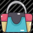 accessories, bag, fashion, femenine, handbag icon