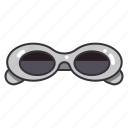 accessory, eyeglasses, fashion, protection, sun, sunglasses icon