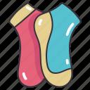 clothes, clothing, fashion, feet, sock, socks icon