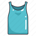 clothes, clothing, fashion, garment, tanktop icon
