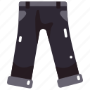 clothes, fashion, garment, jeans, pants, trousers icon