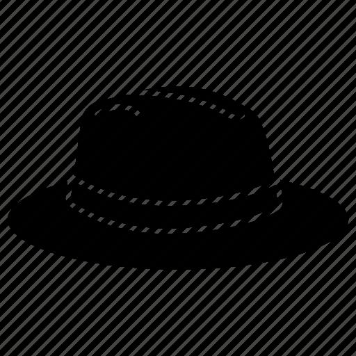 accesory, clothing, fashion, fedora, hat, hats icon