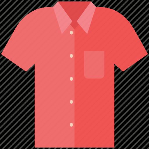 clothes, clothing, garments, shirt, short sleeve shirt, summer shirt, t shirt icon