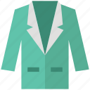 blazer, clothing, coat, dress coat, fashion, garments, suit icon