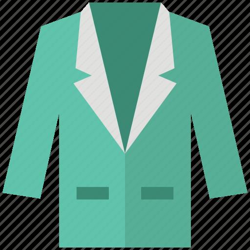 blazer, clothing, coat, dress coat, fashion, garments, suit icon