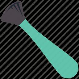 blusher brush, bronzer brush, brush, makeup accessories, makeup brush icon