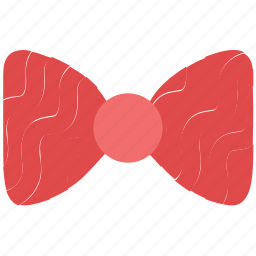 bow tie, hair bow, necktie, ribbon bow, ribbon knot icon