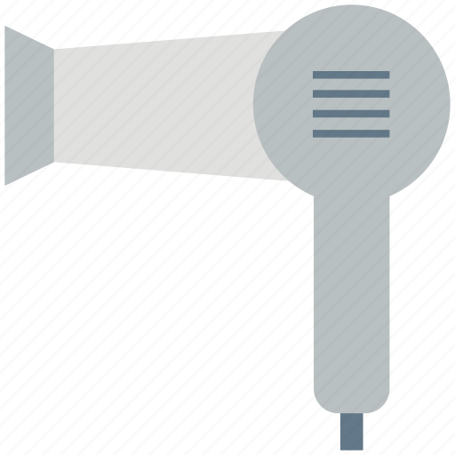 blow dryer, hair accessory, hair dryer, salon, salon electricals icon