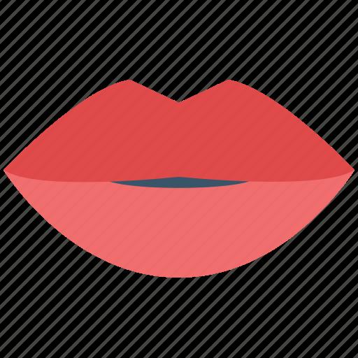 lips, lips beauty, lipstick on lips, red lips, woman lips icon