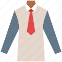 businessman dress, clothing, dress shirt, garments, shirt, suit, tie icon