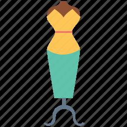dress display, dummy, garment, manikin, mannequin icon