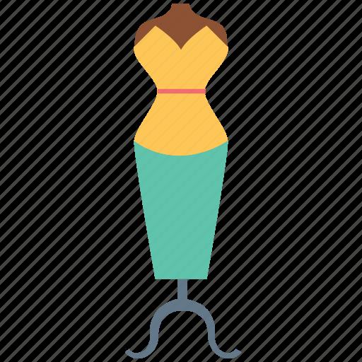 Dress display, dummy, garment, manikin, mannequin icon - Download on Iconfinder