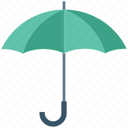 parasol, protection, rain, sun heat, sunshade, umbrella icon