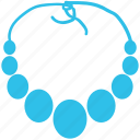 fashion, glamour, jewelry, necklace, pearl necklace, pendant icon