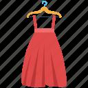 clothing, garments, hanger dress, long skirt, women dress
