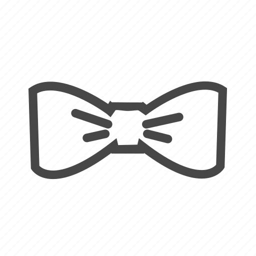 bow, elegant, evening outfit, formal, tie icon