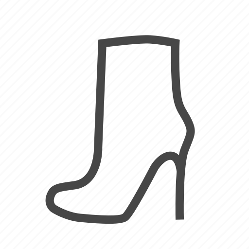 boot, high boots, high heels, high shoe, shoe, shoes icon